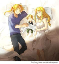 Edward and Winry Married | Fullmetal Alchemist Brotherhood Sequel/Spin-off. | via Facebook
