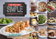 Mel39;s Simple Weeknight Menus eCookbook!  Mel39;s Kitchen Cafe