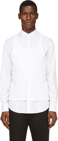Dsquared2 - White Tank Top Shirt | SSENSE