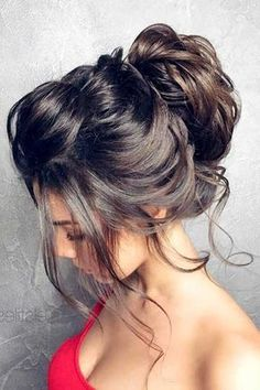 ▷ ideas and inspirations for fantastic bun hairstyles – formal hairstyles Formal Hairstyles For Long Hair, Winter Hairstyles, Messy Hairstyles, Wedding Hairstyles, Black Hairstyles, Hairstyle Ideas, Long Formal Hair, Spanish Hairstyles, Formal Updo