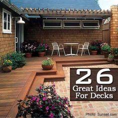 26 Great Ideas For Decks