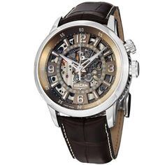Shop for Vulcain Men's 'Anniversary Heart' Brown Skeleton Dial Automatic Watch. Get free delivery On EVERYTHING* Overstock - Your Online Watches Store! Skeleton Watches, Amazing Watches, Online Watch Store, Watch Companies, Watches For Men, Wrist Watches, Men's Watches, Jewelry Watches, Automatic Watch
