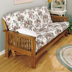 Use the Plan to buid your own Futon Couch and Bed - followed plan carefully result was very nice as sofa and bed