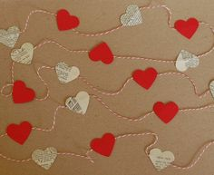 mini heart banner