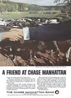 Chase Manhattan Bank 1966 Ad Picture
