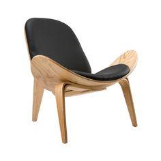 Wings Chair in Natural Black | dotandbo.com