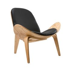 Wings Chair in Natural Black | dotandbo.com