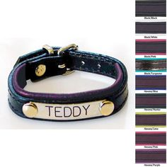 Gifts Leather Padded Bracelet With Engraving Great For Horse Names Or Sayings Just Jump