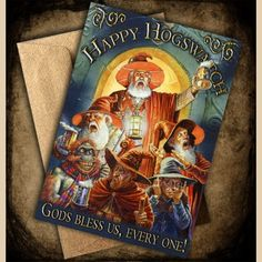 Hogswatch Greeting cards
