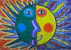 Топле и хладне боје – Сунце   ВЕСЕЛА ДРУЖИНА