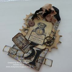 The Artistic Stamper Creative Team Blog: Happy Halloween by Emma Williams #sizzix #timholtz