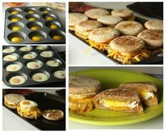 How to Make Egg and Cheese Breakfast Sandwiches