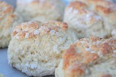 A Bountiful Kitchen: Sour Cream Biscuits