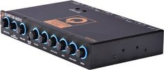Quantum QEQ6 5 Band Equalizer by Quantum. $40.99. Five band of stereo equalization: 45Hz, 100Hz, 700Hz, 2KHz & 15KHz Variable subwoofer output control with frequency bandwidth adjustment Left and right AUX input sendsitivity controls Main/ AUX input selector Volume grain with up to 8 volts of output Gold plated RCA input connectors Blue power-on illumination. Save 41% Off!