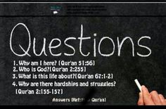 Yours #answers to #life questions..