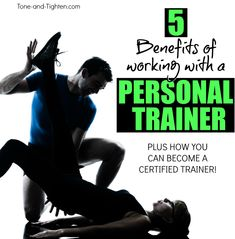 5 Reasons To Workout With A Personal Trainer PLUS How To Become A Personal Trainer   Tone-and-Tighten.com