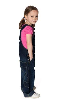 Uskees - Girls Dungarees - Darkwash Girls Denim Dungarees Kids Bib Overalls USK.KD03.G Denim Dungarees, Denim Overalls, My Little Girl, My Girl, Girls Show, Girl Face, Big Boys, Kids Fashion, Lady