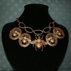 Magnificent Joseff Bees Necklace