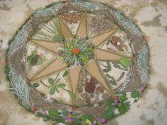 Mandala Natureza http://soluarte-mandalas.blogspot.com.br/