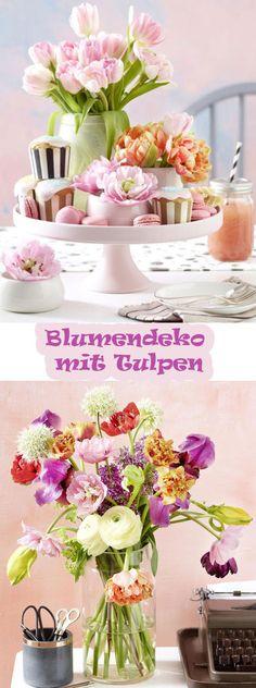 Der Frühling gehört den Tulpen und deswegen haben wir hier 5 Deko-Ideen mit unseren Lieblingsblumen für euch.