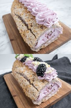 Danish Cake, Danish Food, Baking Recipes, Cake Recipes, Dessert Recipes, No Bake Desserts, Delicious Desserts, Roulade Recipe, Cooking Cookies