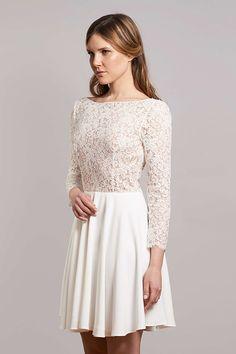 robe de mariée créateur fabienne Alagama Paris et Lyon - Collection civile
