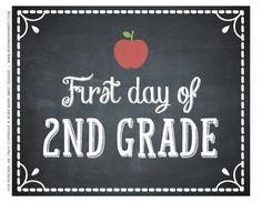 First-day-of-school-2nd-grade.jpg (3300×2550)
