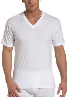 Dockers Men's 4 Pack V-Neck T-Shirt,White,X-Large Dockers. $13.00