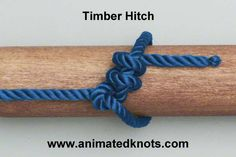 Timber hitch knot 'Sammy snake goes around the tree and thinks he sees another snake.  He hugs her close and never wants to let her go so he wraps around himself, once, twice, three times a lady and pulls her tight!'