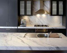 Kitchen Renovation finished in Calcutta Granite