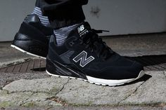 New Balance MRT580BV - Black - Save Our Sole  - 2