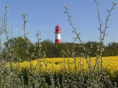 Leuchtturm von Falshöft, Ostsee ...