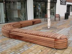 'L' Shaped Bespoke Bench
