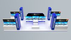 Desain stand pameran. Kami menyediakan solusi untuk berbagai macam penyelenggaraan event dan pameran, mulai dari desain stand pameran hingga konstruksi.