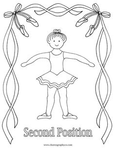 find this pin and more on twirl reproducible ballet coloring pages