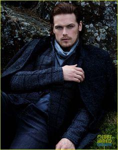 Outlander's Sam Heughan Takes JJ's Spotlight - Scotland Edition! (Exclusive Pics) | sam heughan just jared spotlight 03 - Photo