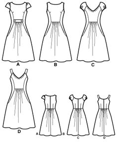 Simplicity 2591 Misses Dresses Threads Collection -- Y U SO OUT OF PRINT THO? :C