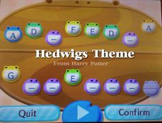 Animal Crossing Town Tune-Hedwig's theme(:
