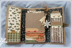 Sementes de papel: Mini Album Warm&Cozy, Carta Bella