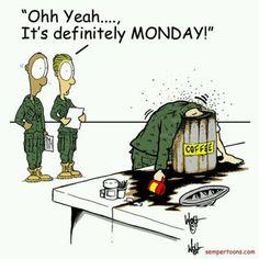 Monday coffee #coffee #humor