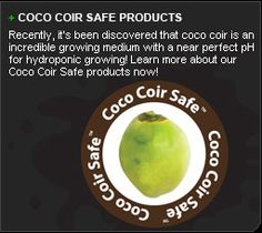 Coco coir is a 100% environmentally friendly and completely renewable resource. You can use coco-coir with a perfectly clean conscience, because there exists nothing more environmentally friendly.