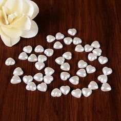 100 Pcs Confetti Table Scatters Centerpiece Wedding Decoration - Wedding Look