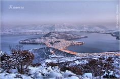 Winter in Kastoria town, west Macedonia, Greece Cool Pictures, Cool Photos, Macedonia Greece, Thessaloniki, Greece Travel, Greek Islands, Holiday Destinations, Places To See, Travel Inspiration