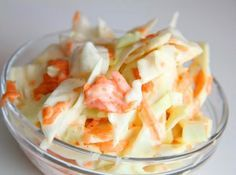 KFC Salad Recipe: KFC is popular with Cole worldwide - Keto Shrimp Salad Kfc Coleslaw, Coleslaw Salad, My Recipes, Salad Recipes, Cooking Recipes, European Dishes, Healthy Food Options, Hungarian Recipes, Vegetable Dishes