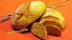 Una Riccia in Cucina: Pane alla curcuma con lievito madre