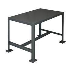 """Durham Manufacturing Medium Duty Steel Top Workbench Size: 30"""" H x 36"""" W x 24"""" D"""