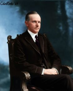 Calvin Coolidge Before he was President