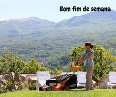 Será que este fim de semana vai estar sol para poder tratar do jardim? Era bom que sim! Bom fim de semana.  #oleomac #oleomacportugal #fimdesemana #jardim