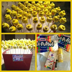 Lego party pops