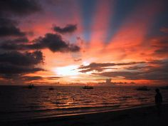Boracay, Philippines. The best sunsets I've ever seen....
